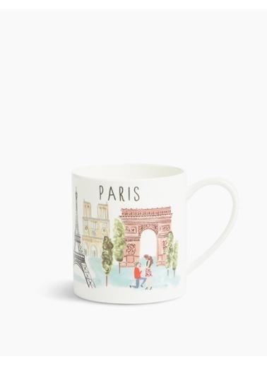 Marks & Spencer Paris Baskılı Kupa Renkli